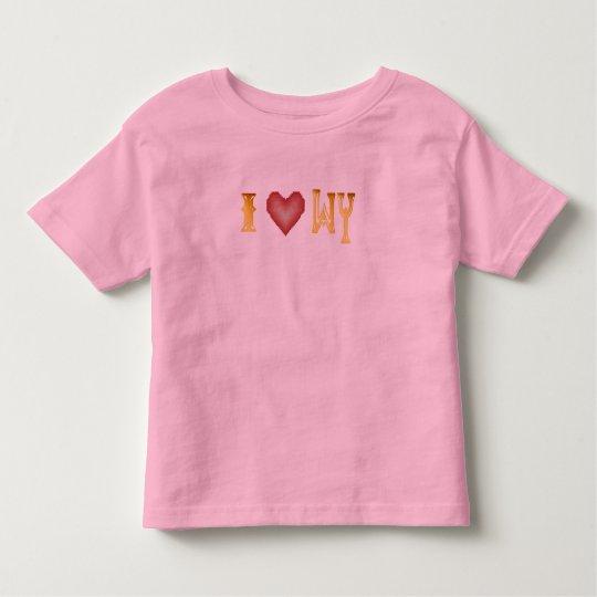 I Love Wyoming Shirt