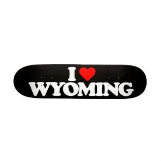 I LOVE WYOMING SKATE BOARD
