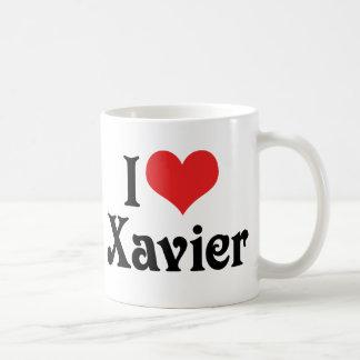 I Love Xavier Coffee Mug