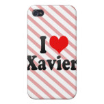 I love Xavier iPhone 4 Cover