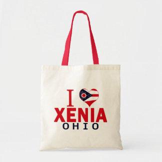 I love Xenia, Ohio Tote Bags