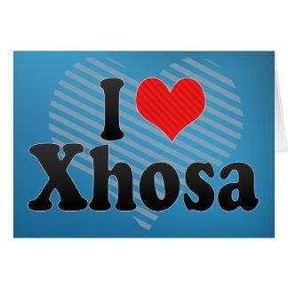 I Love Xhosa Greeting Card