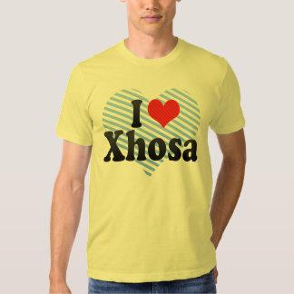 I Love Xhosa T Shirts