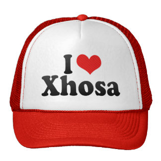 I Love Xhosa Trucker Hat