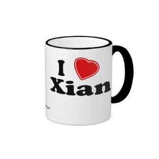 I Love Xian Ringer Mug