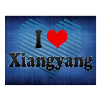 I Love Xiangyang, China. Wo Ai Xiangyang, China Postcard