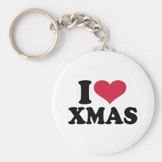 I love xmas christmas keychains