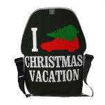 I LOVE XMAS MESSENGER BAG