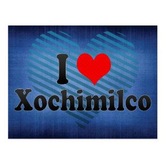I Love Xochimilco, Mexico Postcard