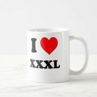 I love Xxxl Coffee Mug