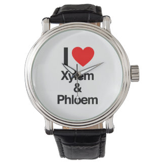 i love xylem and phloem wrist watches