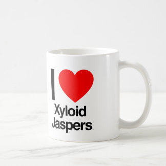 i love xyloid jaspers coffee mug