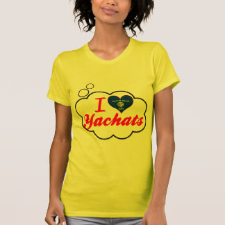 I Love Yachats, Oregon T-Shirt
