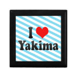 I Love Yakima, United States Keepsake Box