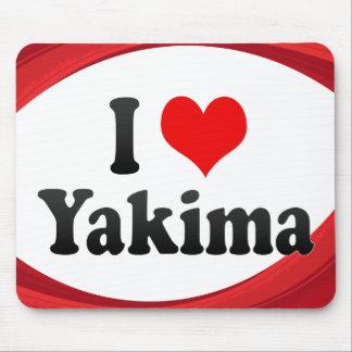 I Love Yakima, United States Mousepads