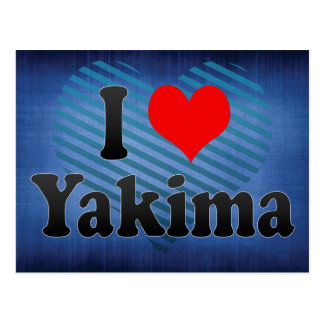 I Love Yakima, United States Postcard