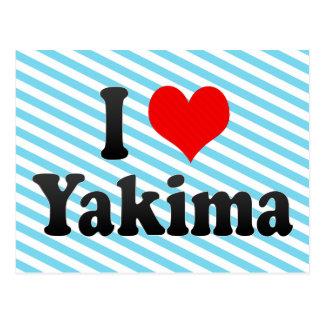 I Love Yakima, United States Post Card
