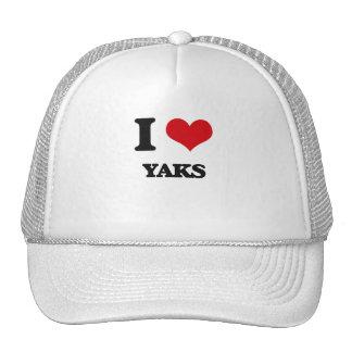 I love Yaks Hats