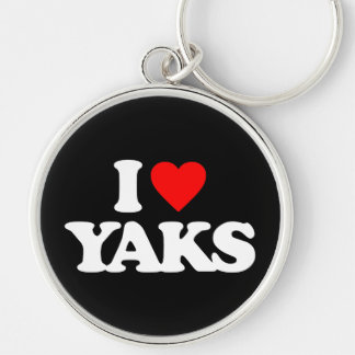 I LOVE YAKS KEY CHAINS