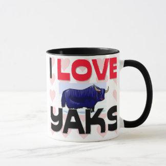 I Love Yaks Mug