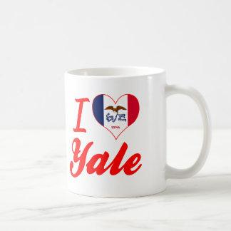I Love Yale, Iowa Classic White Coffee Mug