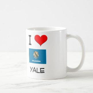 I Love Yale Oklahoma Classic White Coffee Mug