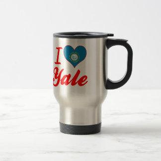 I Love Yale, South Dakota 15 Oz Stainless Steel Travel Mug