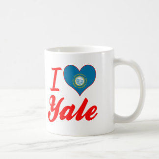 I Love Yale, South Dakota Classic White Coffee Mug