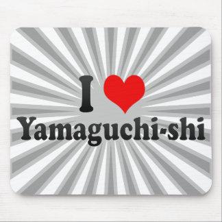 I Love Yamaguchi-shi, Japan Mouse Pad