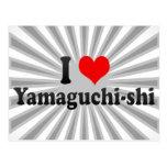 I Love Yamaguchi-shi, Japan Postcard