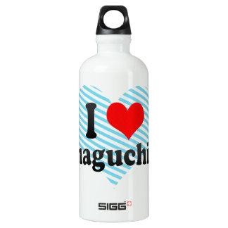 I Love Yamaguchi-shi, Japan SIGG Traveler 0.6L Water Bottle