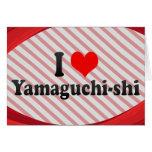 I Love Yamaguchi-shi, Japan Stationery Note Card
