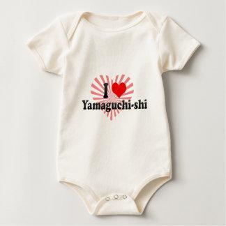 I Love Yamaguchi-shi, Japan Baby Creeper