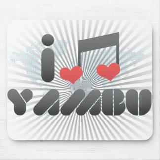 I Love Yambu Mouse Pad