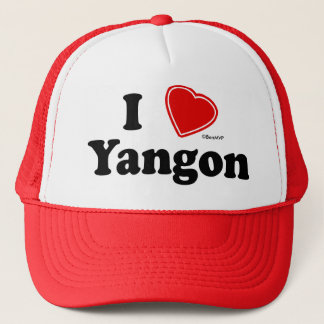 I Love Yangon Trucker Hat