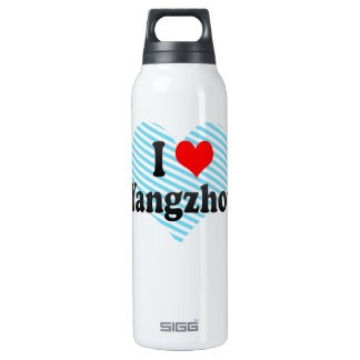I Love Yangzhou, China 16 Oz Insulated SIGG Thermos Water Bottle