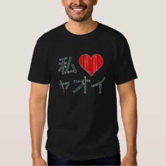 I Love Yaoi Tee Shirt