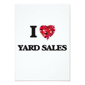 I love Yard Sales 5x7 Paper Invitation Card