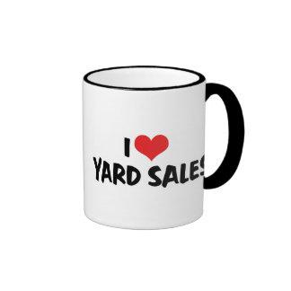 I Love Yard Sales Mugs
