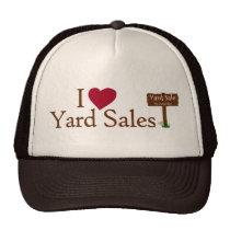 I Love Yard Sales Trucker Hat