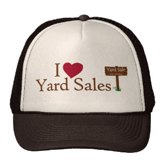 I Love Yard Sales Trucker Hat