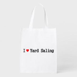 I Love Yard Saling Budget-Priced Bag Grocery Bags