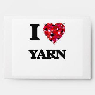 I love Yarn Envelope