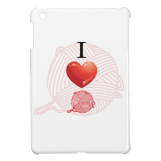 I love yarn iPad mini cover