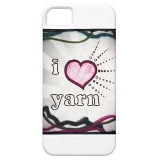 I Love Yarn phone case cover