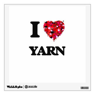 I love Yarn Wall Skin