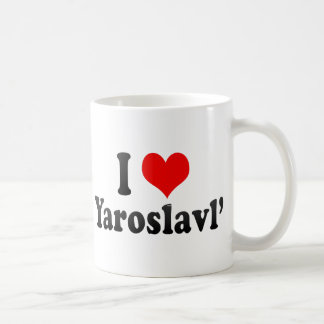 I Love Yaroslavl', Russia Coffee Mug