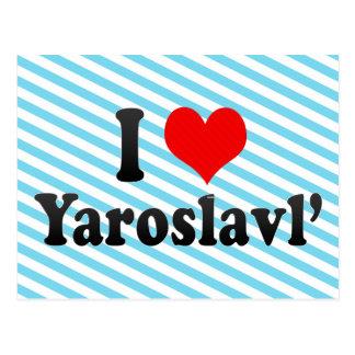 I Love Yaroslavl', Russia Postcard