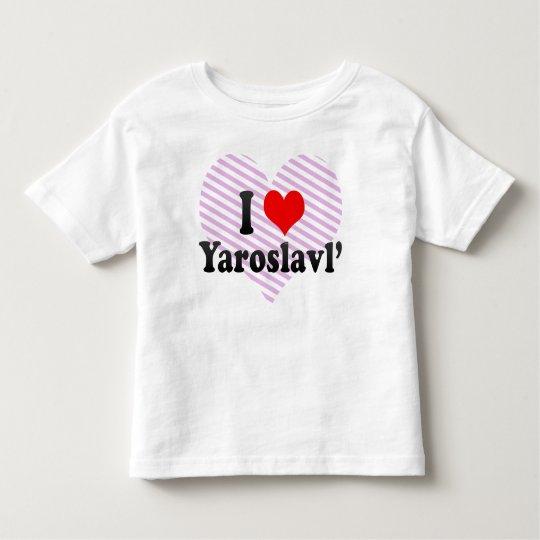 I Love Yaroslavl', Russia Toddler T-shirt