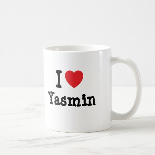 I love Yasmin heart T-Shirt Classic White Coffee Mug